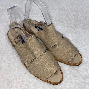 Vintage Footnotes by Hausman slingback sandals 7.5